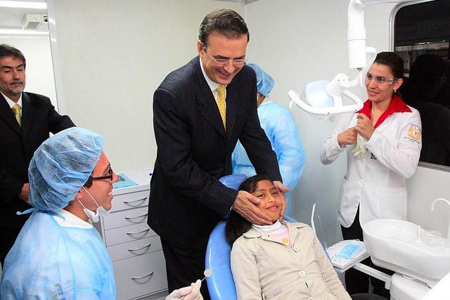 Relacion entre los niños y el dentista