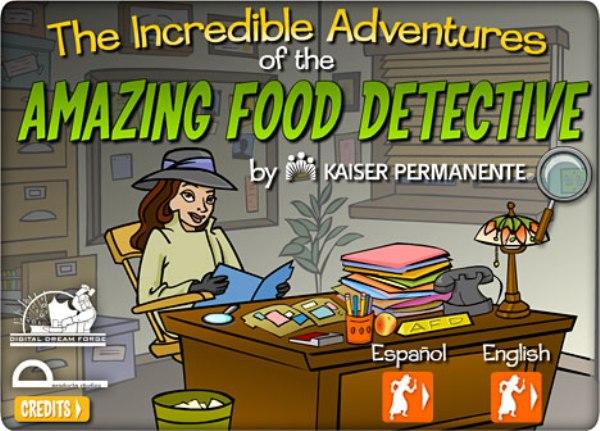 El Detective de la Comida, un juego para luchar contra la obesidad infantil