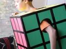 Carnaval: Disfraz casero Cubo de Rubik
