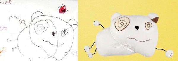 Los dibujos de tus peques pueden convertirse en muñecos y papeles de vinilo