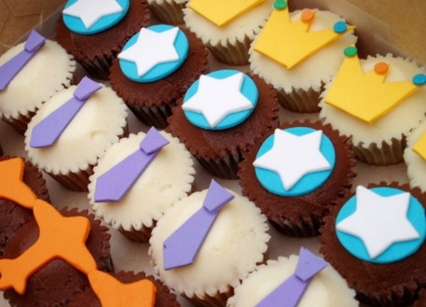 Ideas para el Día del Padre: Cupcakes decoradas