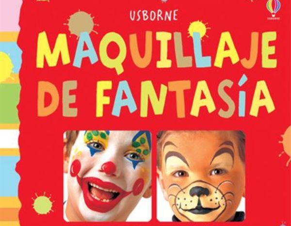 Libros de maquillaje de Carnaval para niños