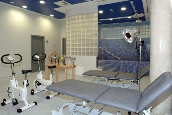 Sala de rehabilitacionNueva sala de rehabilitación y ortopedia infantil en el Hospital Vithas Virgen del Mar