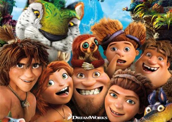 Los Croods y sus pifias prehistóricas próximamente en todos los cines