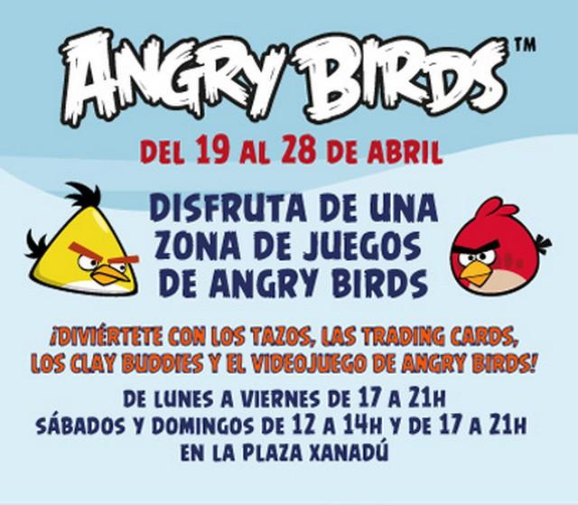Juega con Angry Birds en Xanadú