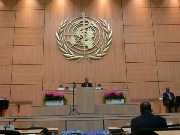 Organizacion Mundial de la Salud con un nuevo plan