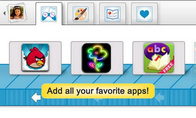 Aplicación recomendada: Modo niños