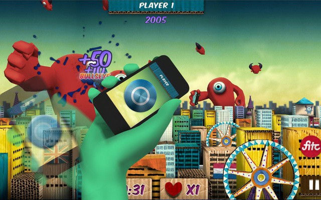 Shield Attack juega desde el teléfono en tu televisión