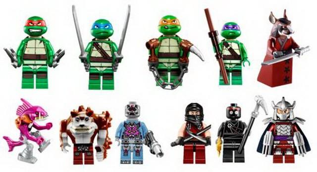 Llegan las Tortugas Ninja de la mano de Lego