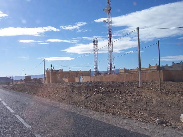 Peligrosas carreteras del desierto de Marruecos