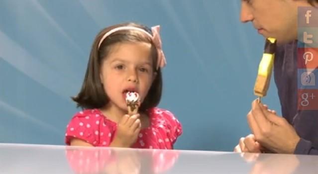 Reacciones de los niños ante la tentación de los helados de Lidl