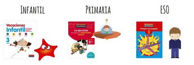 Comprando los cuadernos de Vacaciones Santillana ayudaremos a Aldeas Infantiles