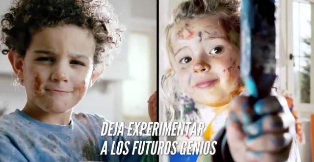 Los padres animan a sus hijos a experimentar para estar mejor preparados para el futuro