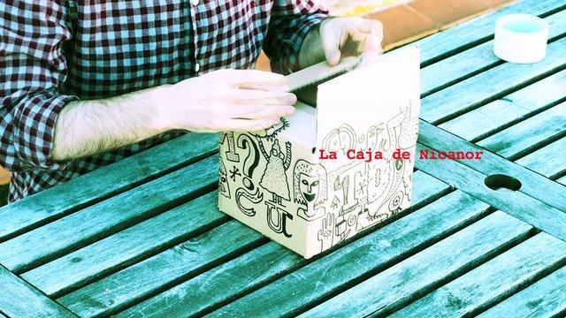 libro: la caja de Nicanor