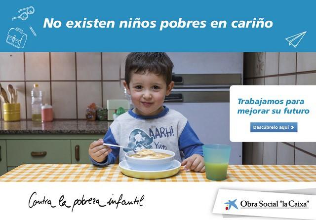 Obra Social la Caixa contra la pobreza infantil
