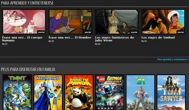 Nubeox: una película infantil al día por un euro