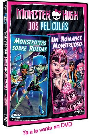 Sorteo: Tenemos tres vídeos de Monster High para nuestros lectores