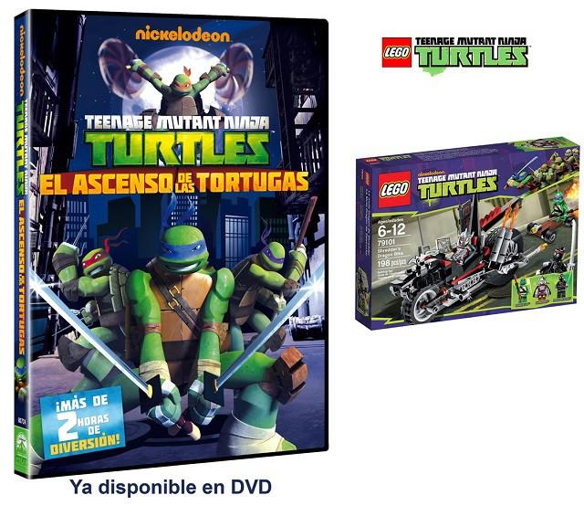 Sorteamos dos juegos de Lego de las Tortugas Ninja