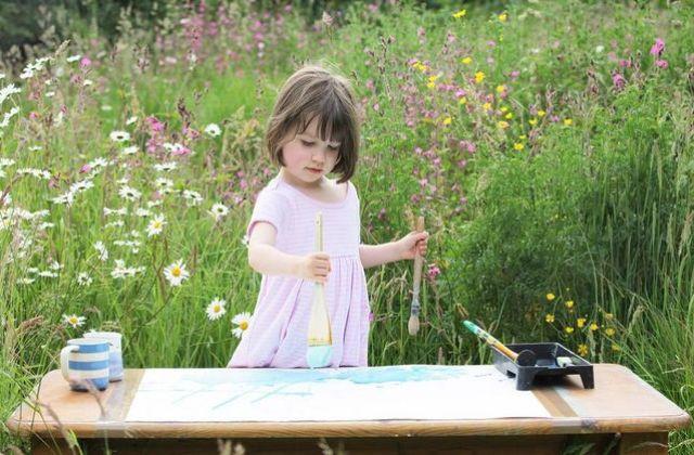 Autista y genio de la pintura