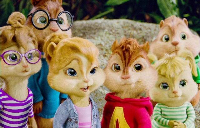 Televisión: Alvin y las ardillas 2