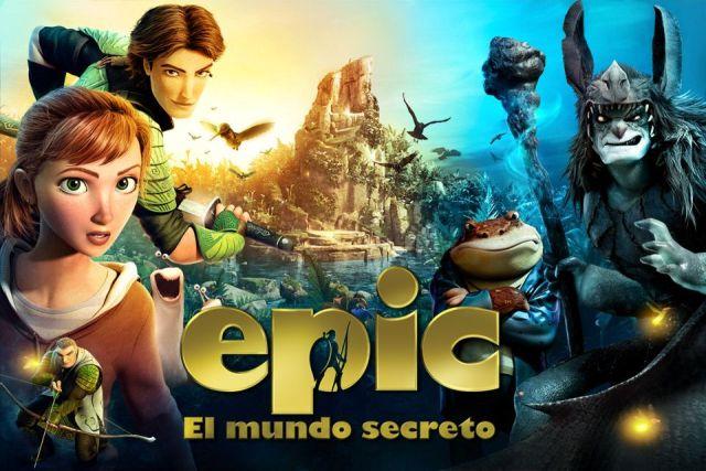 Cine: epic el mundo secreto