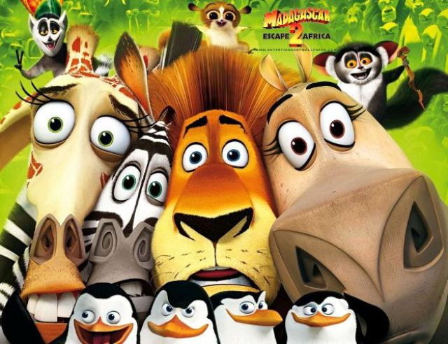 Televisión: Madagascar 2