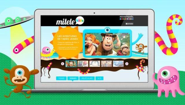 Mitele Kids en Internet