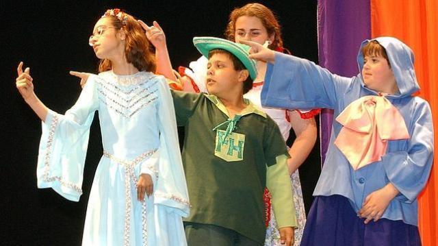 Teatro y niños con discapacidad