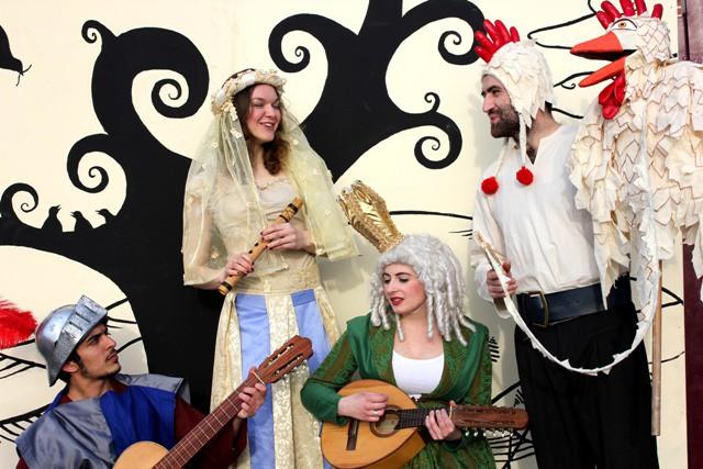 Teatro en ingles: Canterbury Tales