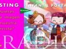 Casting infantil para la portada de la revista valenciana Tradicions