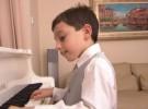 Curtis Elton, un prodigio al piano con solo 9 años