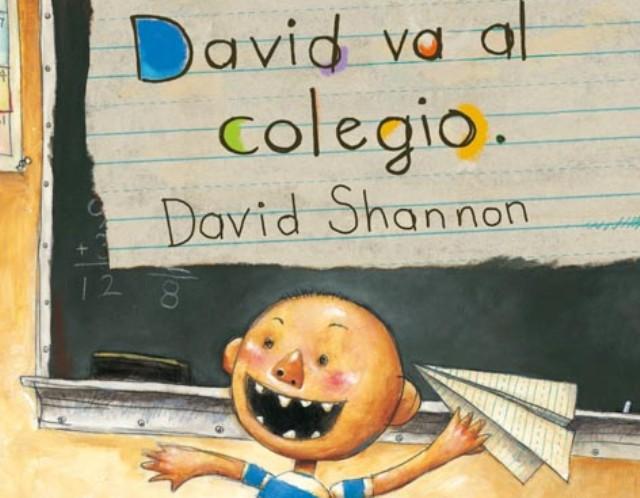 libro: david va al colegio