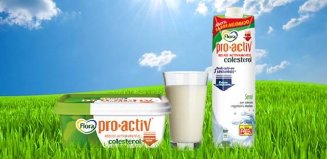 Reduce tu colesterol con Flora Pro Activ
