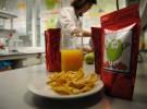 Inventan un snack de manzana y mandarina para ayudar a los niños obesos