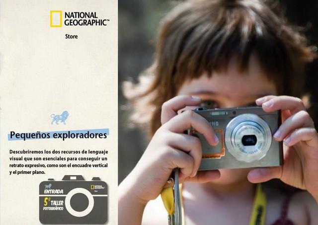 National Geographic dará cursos de fotografía a nuestros hijos