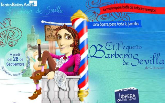 Ópera: el pequeño barbero de sevilla