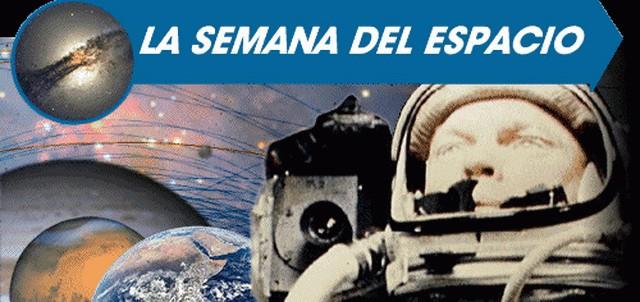 Hoy empieza la semana Mundial del Espacio
