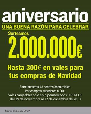 Celebra el aniversario de Hipercor