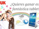 NUK sortea un Tablet Samsung Tab 3