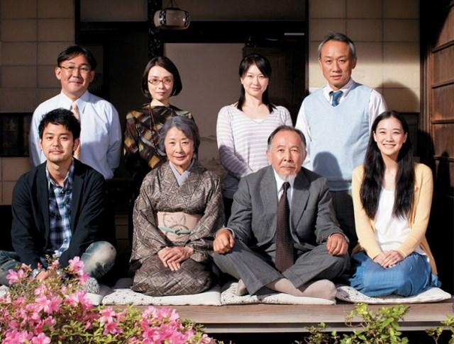 Una familia de Tokio, cine