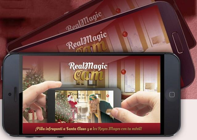 Una aplicación móvil para descubrir a los Reyes Magos