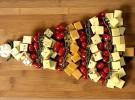 Receta de Navidad: Árbol de quesos y tomatitos