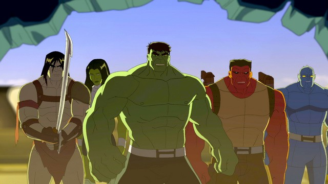 Nuevos dibujos en Disney XD: Hulk y los Agentes de S.M.A.S.H
