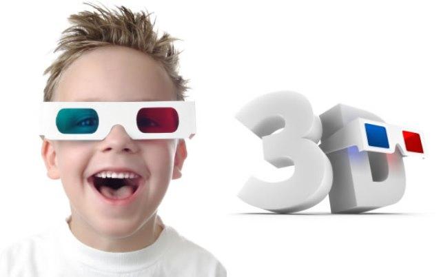 Desaconsejan el cine en 3D para los niños
