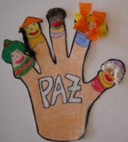 Manualidad para celebrar el Día de la Paz con los niños