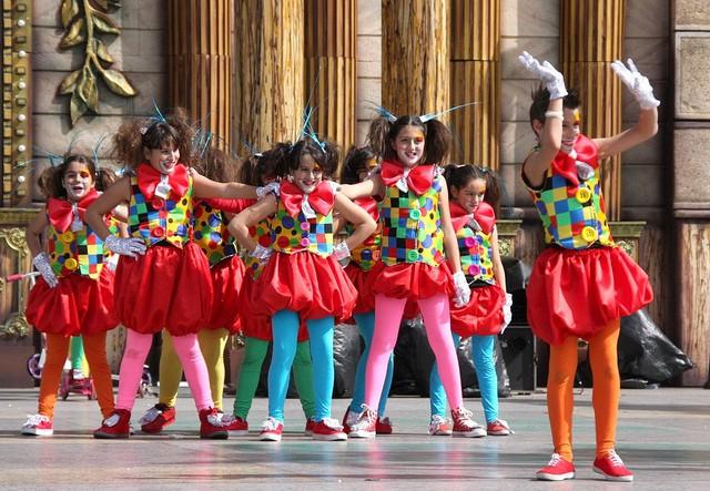 Actividades Infantiles en La Vaguada, Madrid, en mayo
