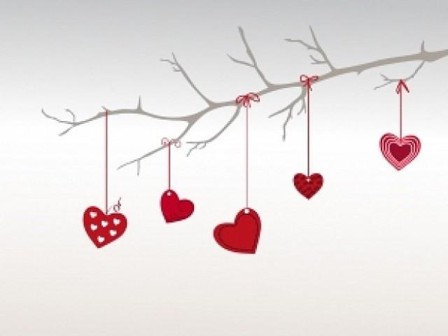 Móvil de San Valentín
