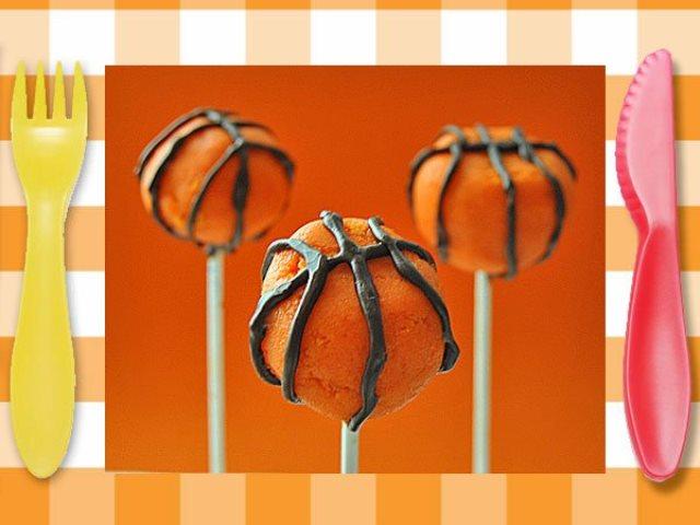 Cakepops baloncesto