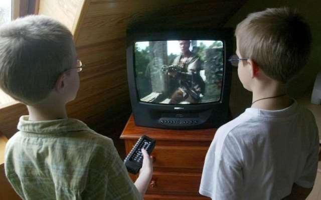 Menos niños viendo tv en europa