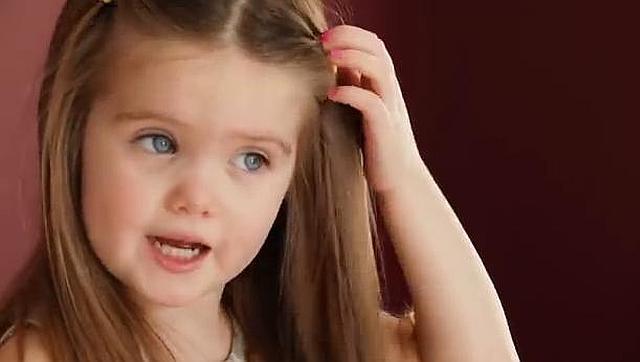 Dona su pelo para niños con cáncer
